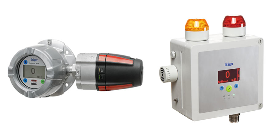 Fixed gas & flame detection applications