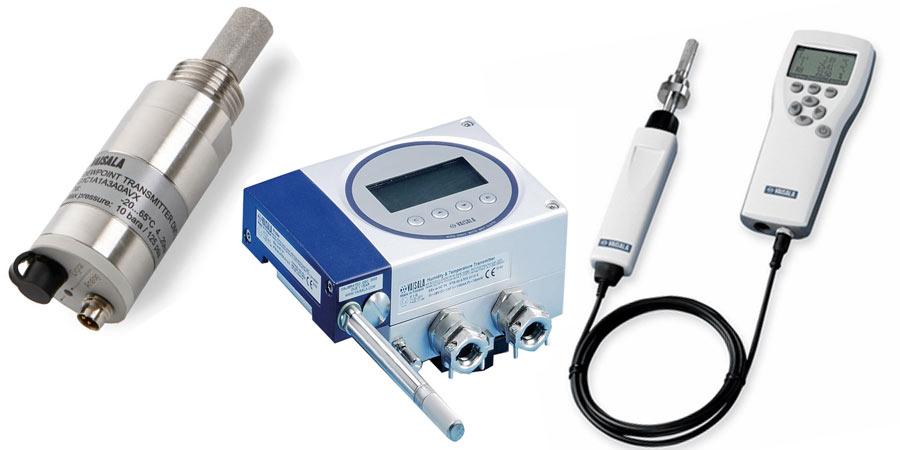 Moisture & C02 Measurement products